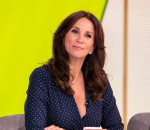 Andrea McLean is broken down in tears on Loose Women