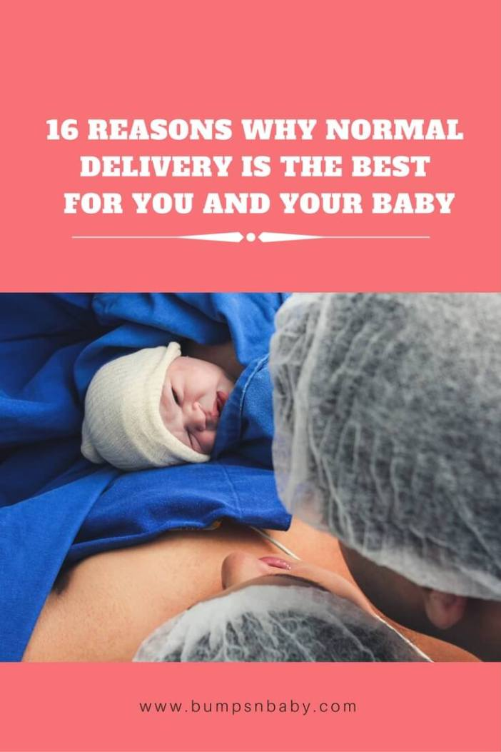 pinterest image for bnb why normal delivery is best