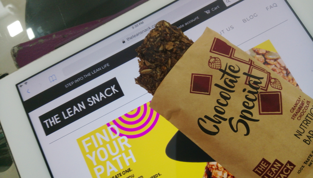 Lean Snack Nutrition Bars