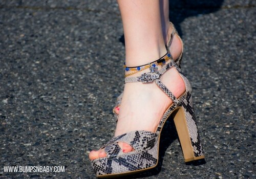 What not to wear high heels during pregnancy