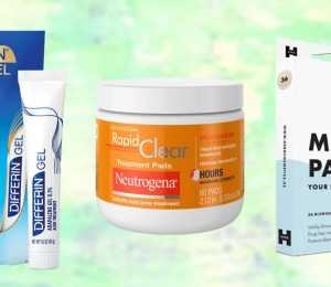 Amazon's top selling acne treatments with the best reviews