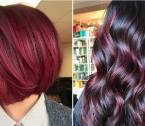 Cranberry Red Hair is the Sauciest Winter Hair Color Trend