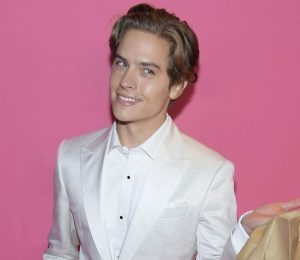 Dylan Sprouse brought the girlfriend Barbara Palvin Fast Food to Victoria's Secret Fashion Show