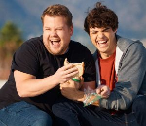 Noah Centineo recruits to all the boys I have loved before with James Corden