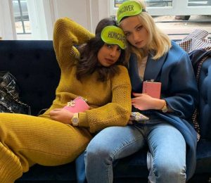 """Priyanka Chopra shares the """"morning after"""" photo with soon-in-law Sophie Turner"""
