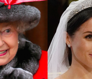 "Queen Elizabeth ""Surprised"" Meghan Markle Wore White to Royal Wedding"
