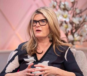 Susannah Constantine divides her mind by asking fans if she will stop sleeping in the same bed as her husband