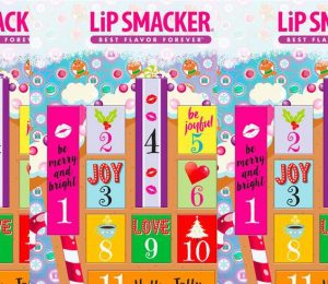 Target 2018 Holiday Gifts includes a Lip Smacker Advent Calendar