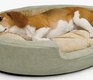 This heated bed will keep your dog warm – K & H Pet Products