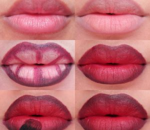 A single lip color is not good? Why not try to stack more than one lip color? Good to see the explosion!