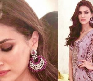 Kriti Sanon at Kapil Sharma and Ginni Chatrath's wedding reception