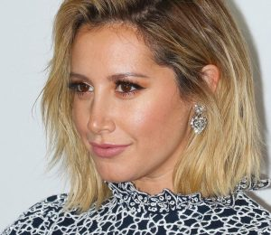 Ashley Tisdale has a Pink Bob Haircut Now and the pictures are incredible