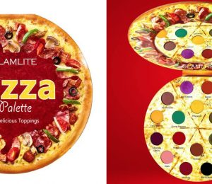 Glamlite Cosmetics Launches Pizza Eye Shadow Palette