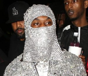 Offset Crystal Birthday Mask – Offset Hits Club for Birthday After Cardi B Apology