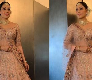 Bipasha Basu Looks Lovely In A Dolly J Lehenga
