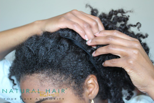 4 Rainy Day Natural Hairstyles Front Branded