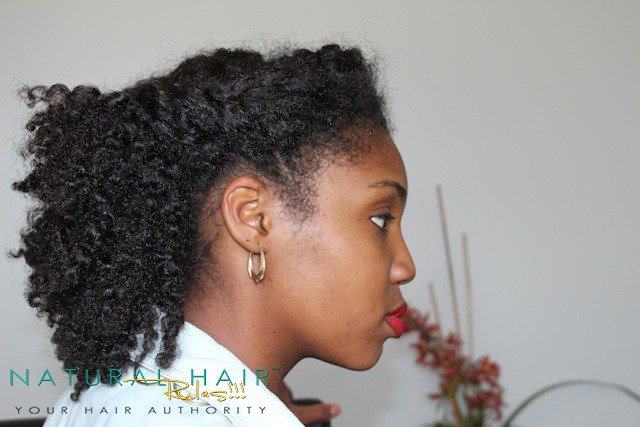 Twisted Front   4 Rainy Today's Natural Hairstyles