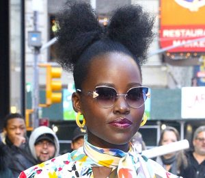"Lupita Nyong & # 39; o Have a ""Fro Bow"" – View pictures"