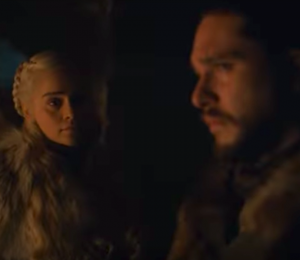 Jon Snow and Daenery's Targaryen Incredible game of Thrones Trailer