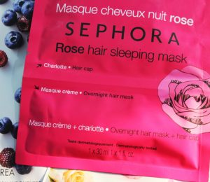 Sephora Hair Sleeping Mask – Rose
