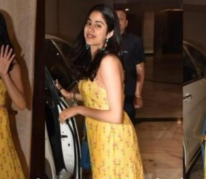 Janhvi Kapoor in an Anita Dongre dress: Yay or no?