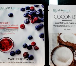 Mirabelle Facial Sheet Masks – Berries and Rose