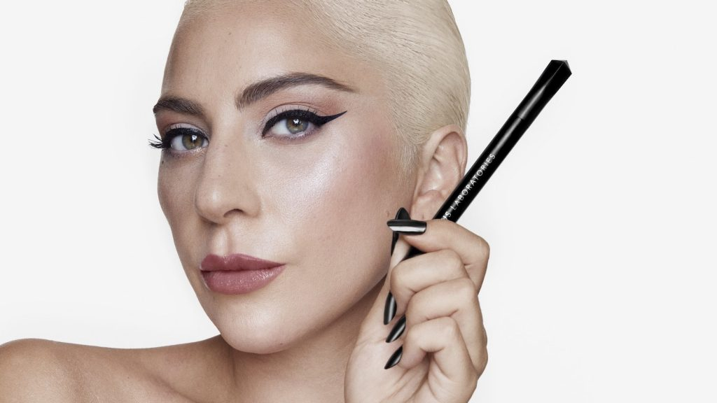 Exclusive: Lady Gaga's House Laboratories & Face Lace Debut Winged Liner Stickers