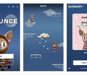 Burberry has launched its first online game: B Bounce