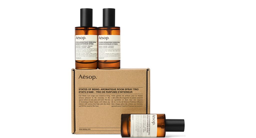 States of Being: Aromatic Room Spray Trio
