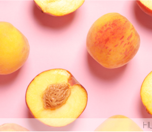 Peach is the ingredient that your skin needs in winter