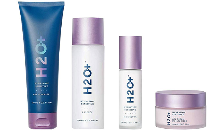 H2O + Hydration Oasis 4-step system