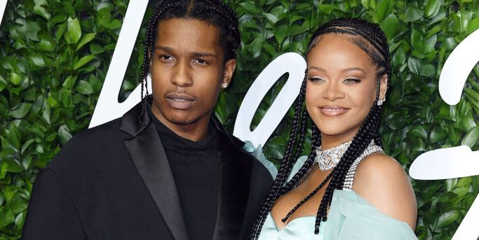Rihanna seen with an $ AP Rocky Post Hassan Jameel Breakup